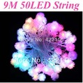 9.5m RGB Edelweiss LED String Strip Holiday Fairy Lights for PARTY CHRISTMAS WEDDING BEDROOM Decoration