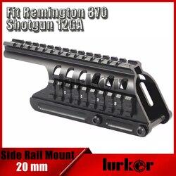 Système de montage tactique 20mm à Double Rail adapté au fusil de chasse Remington 870 RM870 12 Ga. Portée