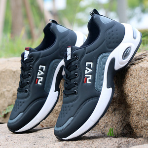 Image 5 - Autumn Men Sneakers Breathable Work Shoes Casual Sport Shoes Outdoor Walking Shoes Air Cushion Male Shoes Zapatos Hombre Sapatos