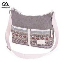 Bolsa de ombro das mulheres lona estilo retro floral feminino bolsos mujer diário viagem mensageiro sacos crossbody senhoras