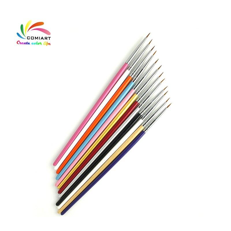 12 teile/los Polnischen Pinsel Set Tool Kit für Knetmasse & Fimo Plastilin & Polymer Keramik Ton Skulptur Kunst Arbeit Tönung