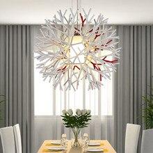 unique pendant lighting. modern brief unique design coral acrylic pendant light dinner lights living room cafe free shipping lighting