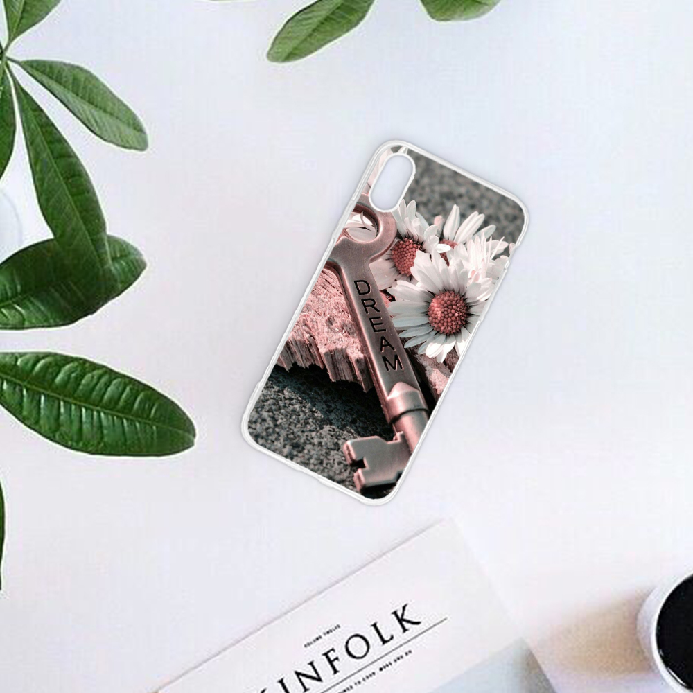 Phone Bags & Cases Eleteil Flower Case For Iphone 7 Case 6 6s 7 8 Plus Feather Green Leaves For Iphone X Xr Xs Max Protective Phone Back Cover E40 Large Assortment