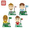 WISE HAWK Футбол блоки эго звездных войн duplo лепин игрушки наклейки playmobil castle starwars orbeez рисунок куклы кирпич автомобиля