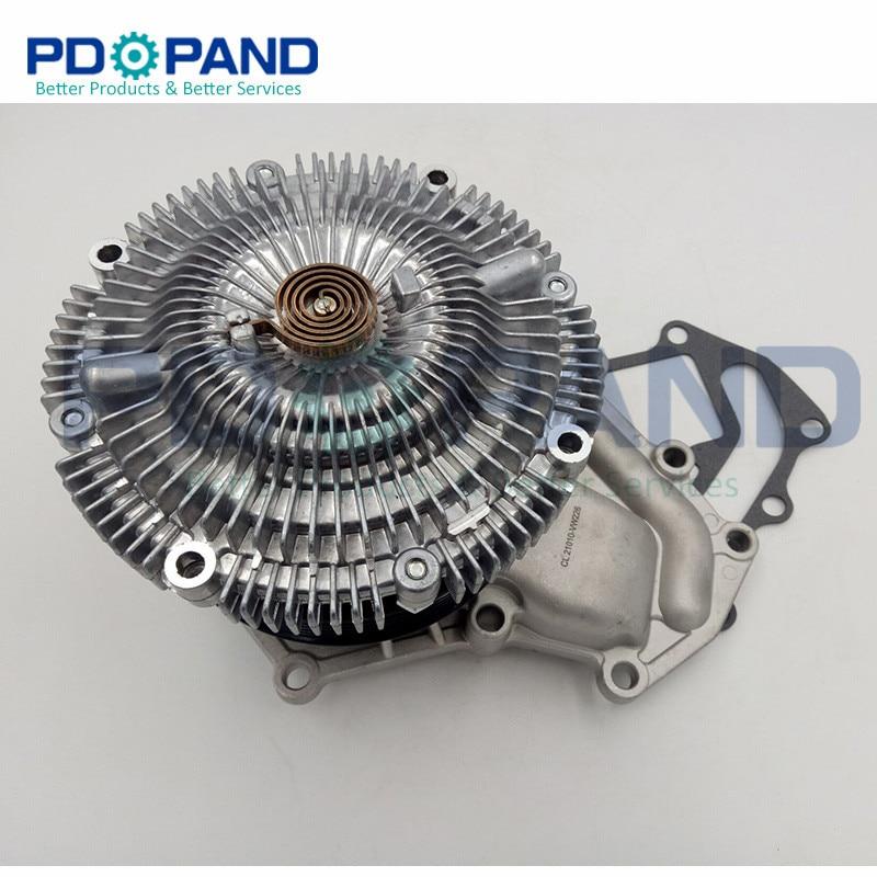 엔진 냉각 시스템 zd30 zd30ddti 워터 펌프 21010-2w20a 닛산 순찰 gr ii 왜건 (y61) urvan e25 3.0 dti 2000-