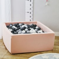 Baby Ocean Ball Square Pool Fencing Tent Grey Pink Blue Dry Pool Pit Play Game Tent For Children Birthday Gift Decor Party Room