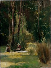 Unframed Canvas Prints - A Sunday Afternoon - Tom Roberts