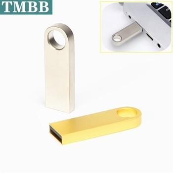цена на Waterproof metal usb flash drive pen drive 64g 32g 16g 8g 4G usb 2.0 pendrive memory stick u disk flash memory card High Quality