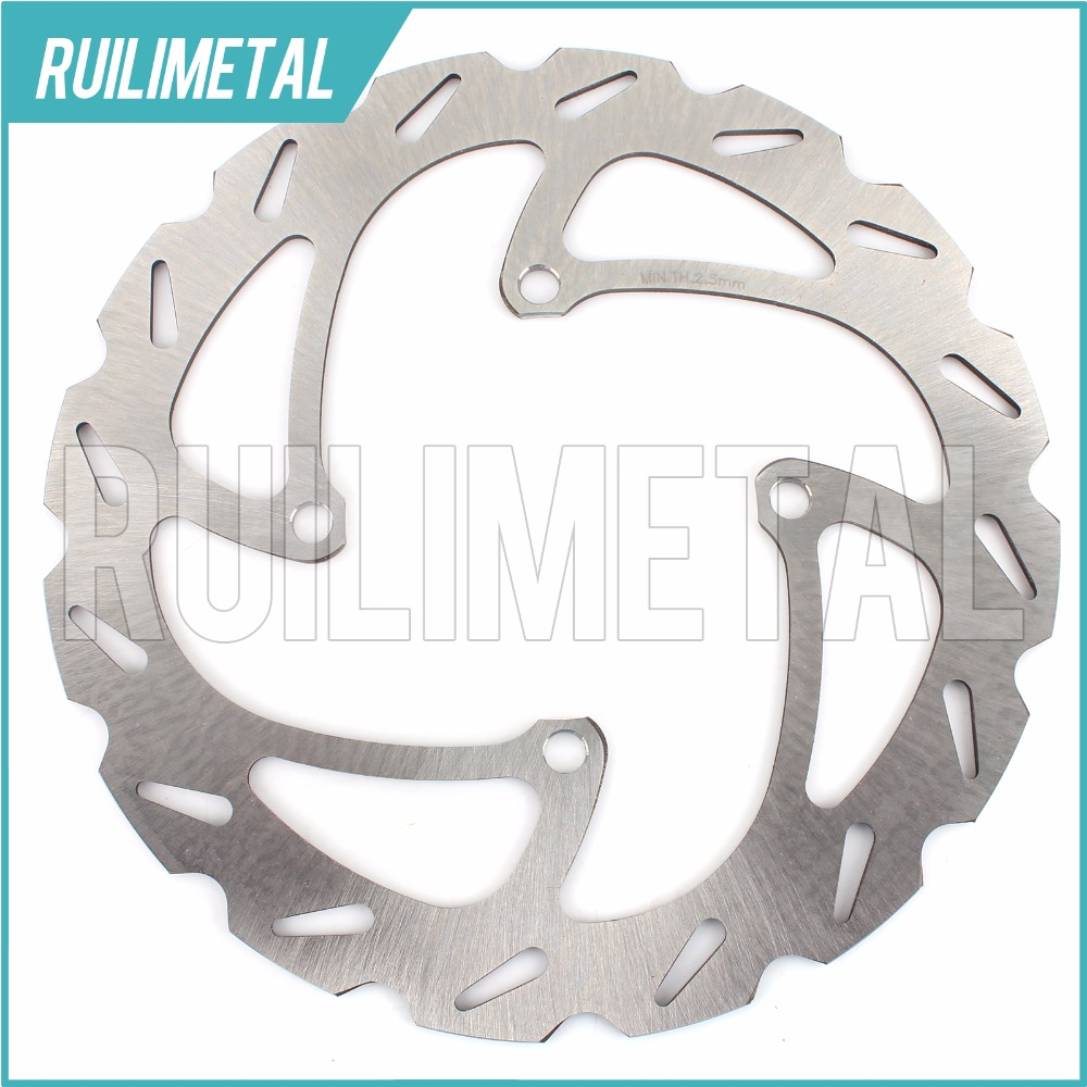 MX Offroad Front Brake Disc Rotor for SUZUKI RMZ250 RMZ-250 RMZ 250 2004 2005 2006 04 05 06 амортизаторы bilstein в6 offroad