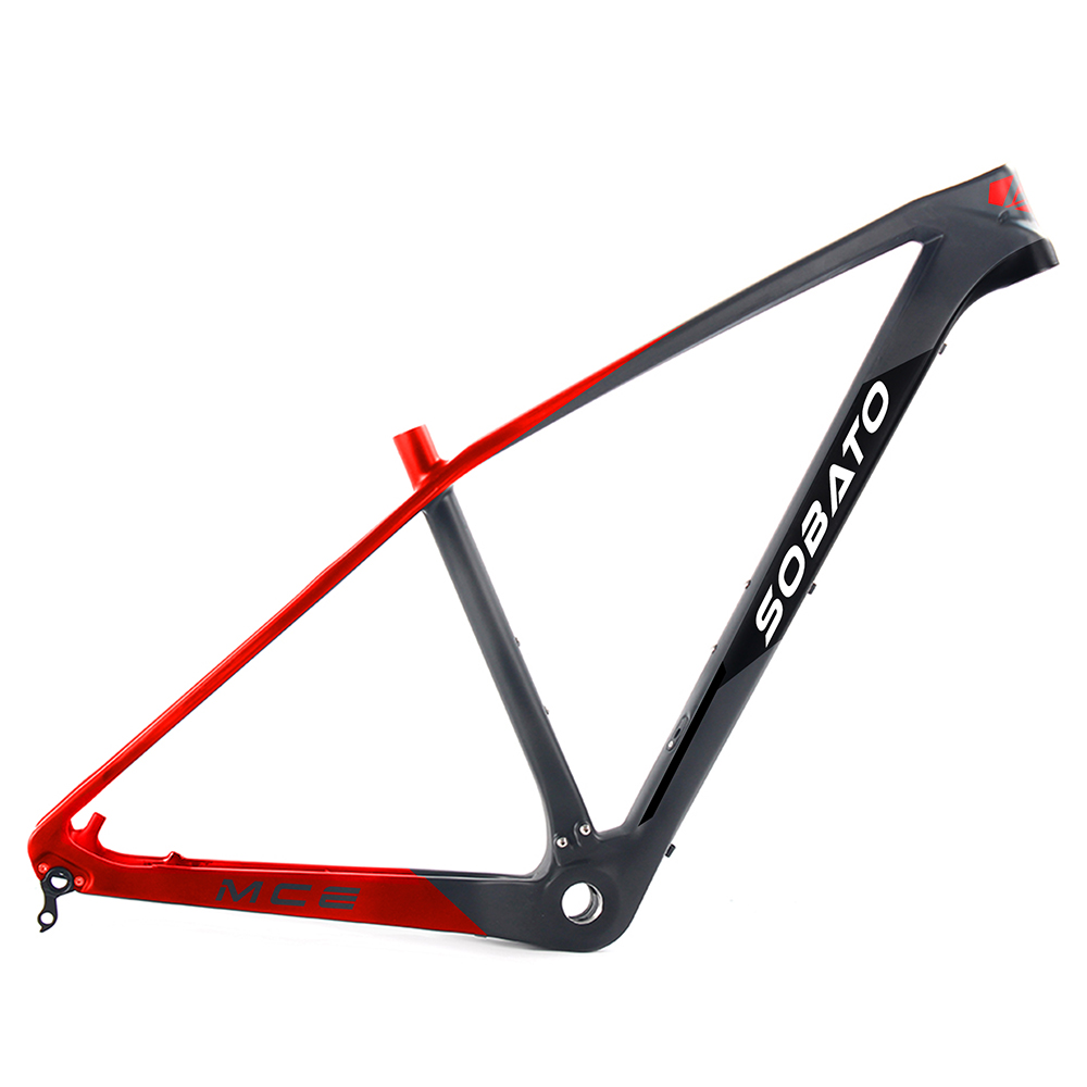 2017 new design mtb carbon frame 29er mountain bike BSA snow bike full carbon frame 3K UD matte T800 стоимость