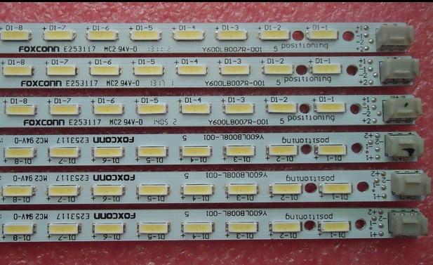 LCD-60LX540A  Y600LB008L-001 E253117  led backlight    1pcs=68led 676mm