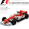 1:32 Automobile toy alloy material F1 EQUATION RACING sound and light back to power car model high-quality children's gifts