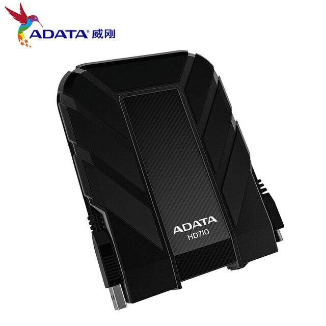 AData Bên Ngoài HDD 1 TB 2 TB HD710 Pro USB3.1 2.5-inch Ổ Cứng Di Động tiêu chuẩn Quân Sự chống sốc IEC chống bụi freeship