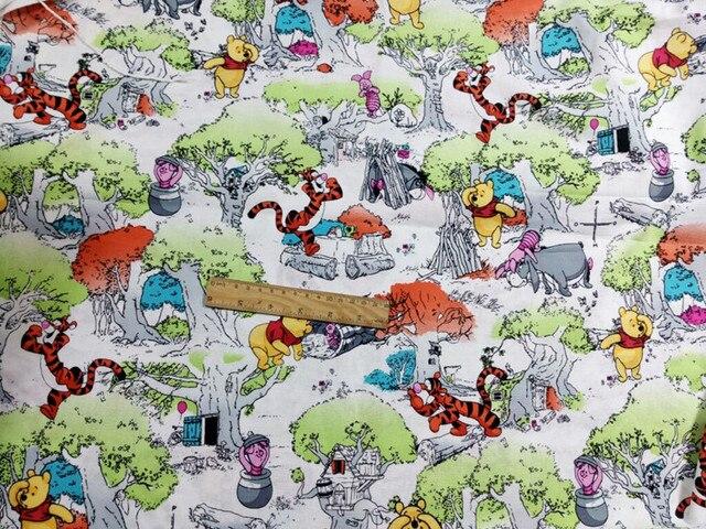 140100 cm beer winnie de pooh in de bossen katoen voor baby jongen gordijn