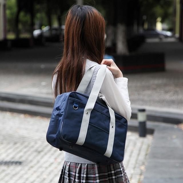 Японская школьная форма для японской средней школы сумка для косплея брендовая модная оксфордская сумка через плечо школьная Студенческая сумка для книг дорожная сумка