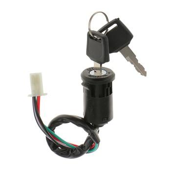 Cilindro negro de Encendido para motocicleta, para Quad Dirt Bike 10cc-250cc, para motocicleta