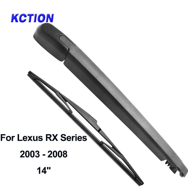 Windshield premium rear wiper blade windscreen rear wiper arms car accessories for Lexus RX Series year from 1998 to 2008 in Windscreen Wipers from Automobiles Motorcycles
