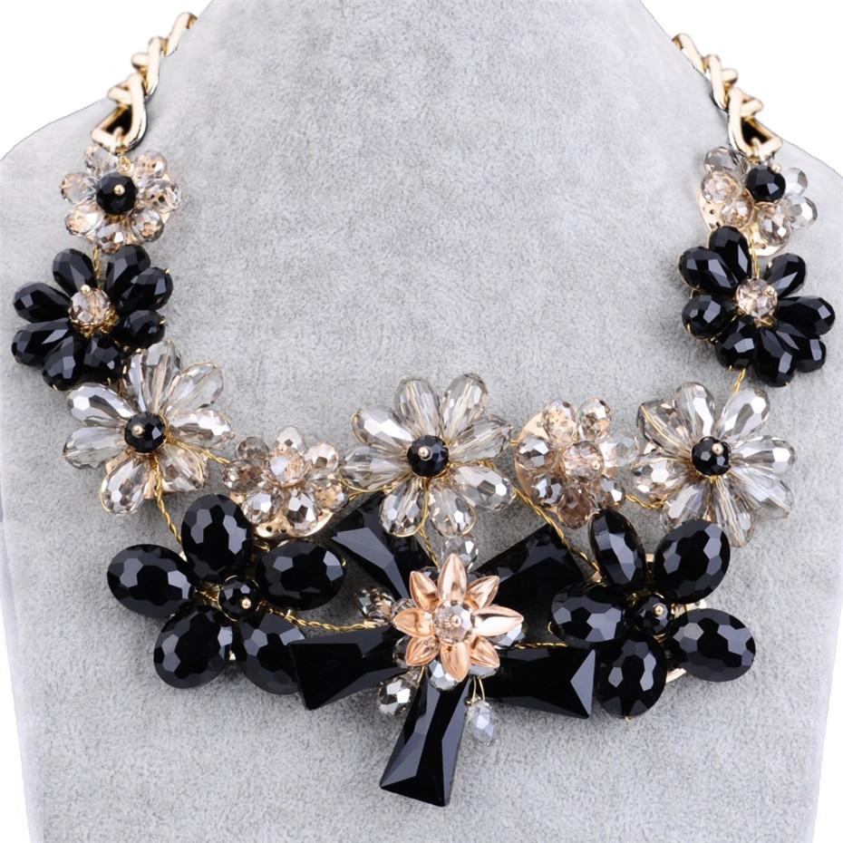 Λουλούδια κρύσταλλα λουλούδι - Κοσμήματα μόδας - Φωτογραφία 5