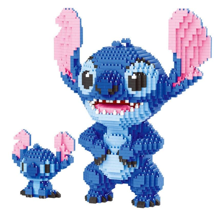 Image 4 - Game Super Marioing Bowser Turtle stitch Animal Monster 3D Model DIY Diamond Mini Building Blocks Bricks Toy 2300pcs-in Blocks from Toys & Hobbies