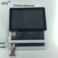 New B101EAN01 6 LCD Display Screen Touch Screen Digitizer Assembly With Frame For ASUS Transformer Pad