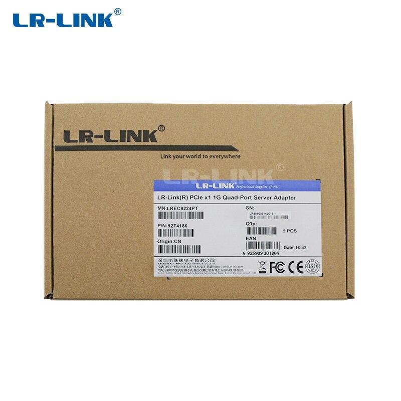 Image 5 - LR LINK 9224PT PCI Express Network Card(NIC) Gigabit Ethernet 10/100/1000M Quad Port RJ 45 LAN Adapter Intel I350 t4 Compatible-in Network Cards from Computer & Office
