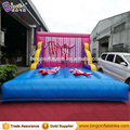 3x3x5 Meters Inflatable stick wall jumping bed with costumes FREE shipping fee