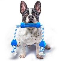 DoreenBeads 45 cm lungo Durevole Anti-morso Corde Pet Giocattoli Cani Chew Denti Puliti Giocattoli Cucciolo di Cane Che Gioca Divertimento formazione Giocattolo Interattivo