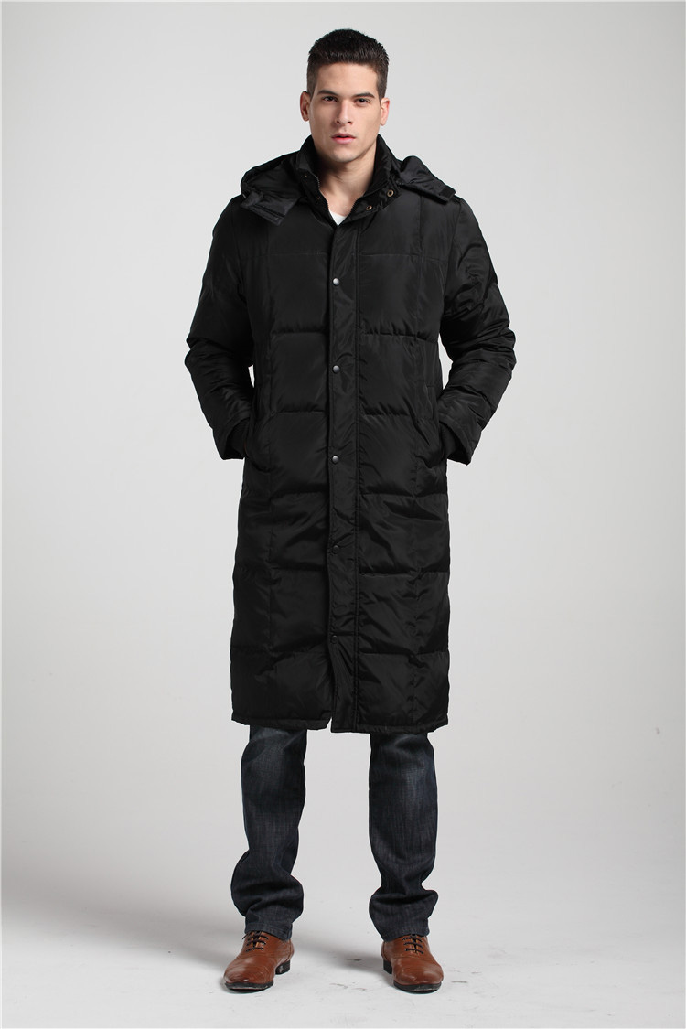2017Mens big size coat high quality white duck down jacket preferred to keep warm in winter coat