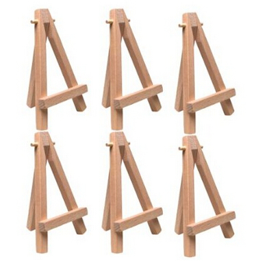 Free Shipping Pack Of 6 Easels Wedding Mini Easel 7 X 12