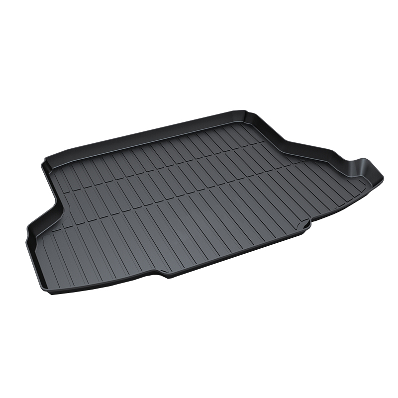 3D Trunk Mat Waterproof Car & Trunk Tray Mat Protector Cover for Honda CITY 2014-2017 for honda jazz trunk tray mat tpo waterproof anti slip car trunk carpet luggage cover black page 6