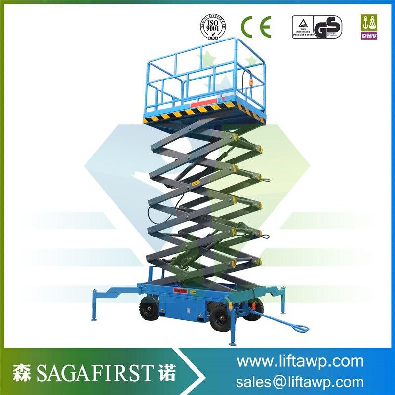 Hydraulic Scissor Lift 500kg 10m Working Platform Lift