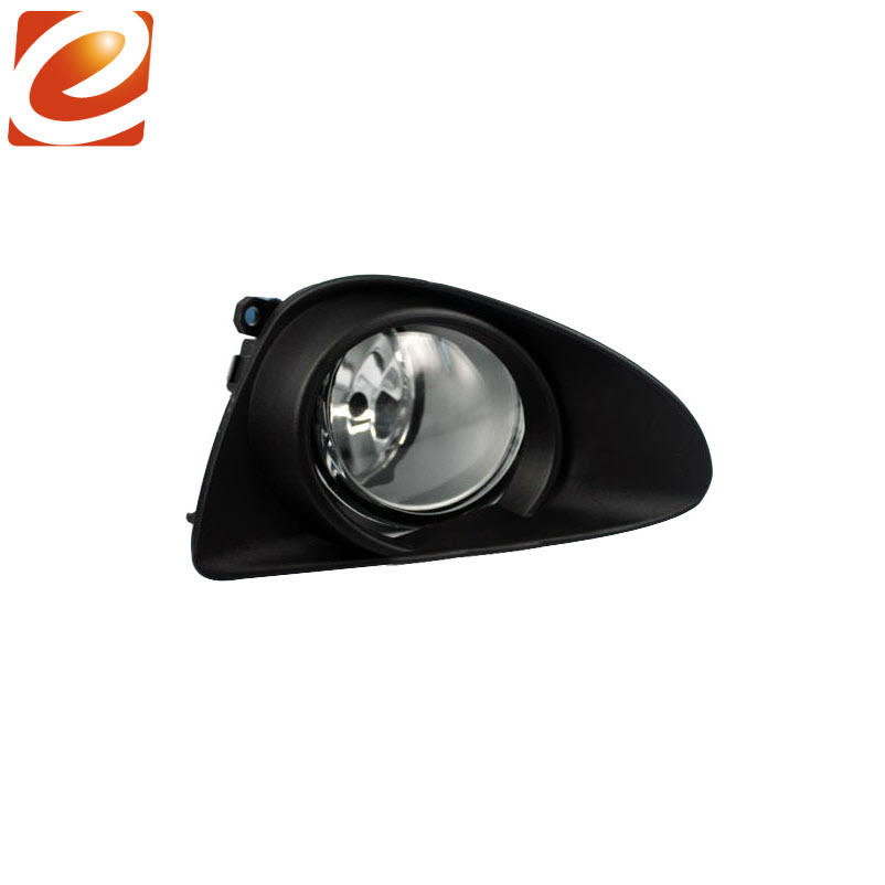 eeMrke For TOYOTA YARIS L LE HATCHBACK 2012 VITZ 2013 2014 Fog Lights Lamp H11 12V 55W Halogen Bulbs With Wires and Switch Kits
