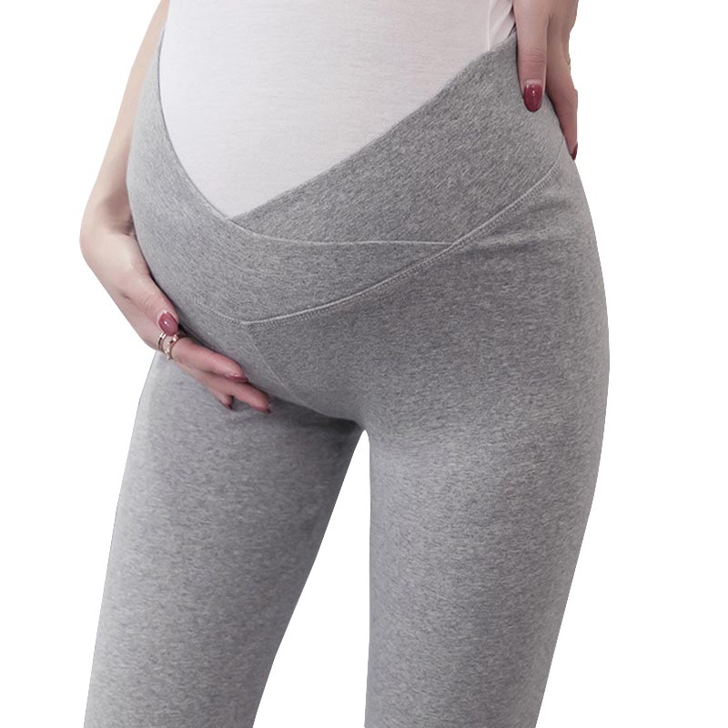 Maternity Clothes Spring And Autumn Thin Trousers Plus Size