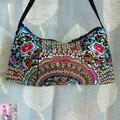 Вышитая сумки компактный мешок великолепная вышивка одно плечо крестики - тело женщины в сумочка сумки