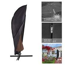 280*32cm extérieur plage parapluie auvent housse de protection sac de transport de haute qualité