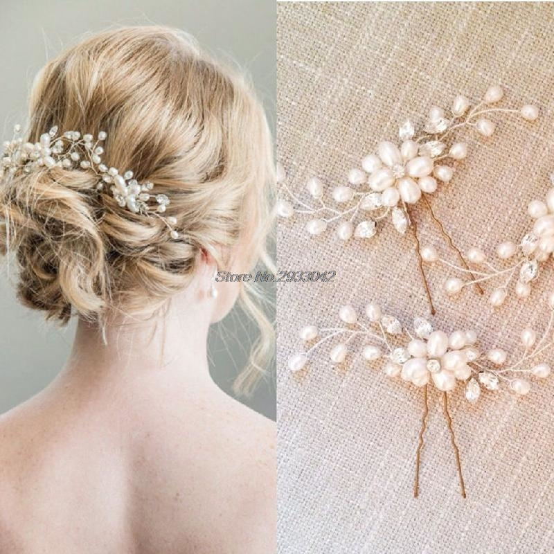 Clips Hot Girls Flower Side Clip Wedding Bride Headwear Hairpin Sufficient Supply Tools & Accessories