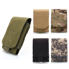 2017 New 5.5-6.0 inches Holster MOLLE Army Camo Camouflage Bag Tactical Backpack Holster Cover Case ZM14