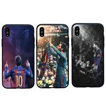 2af57998a Football Lionel Messi Sign Soft Silicon Case For iPhone 6 6s Plus 7 8 Plus  Funda Coque Cover For iphone X XS Max XR 5s SE Case