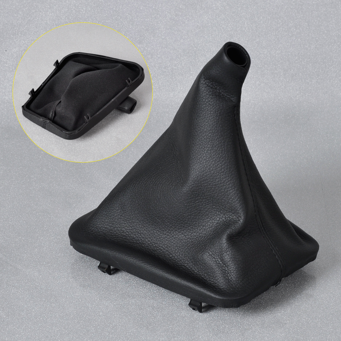 Tracking Brand New 1pc Black PU Leather Gear Boot Gaiter Collar Cover For Mercedes Benz W123 W126 W140 W190 Benz C Class in Gear Shift Knob from Automobiles Motorcycles