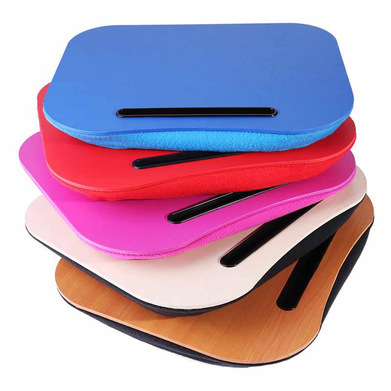 Подушка коленный столик для ноутбука удобный компьютер для чтения и письма держатель для планшета Настольный лоток подстаканник подставка для ноутбука Подушка для офиса