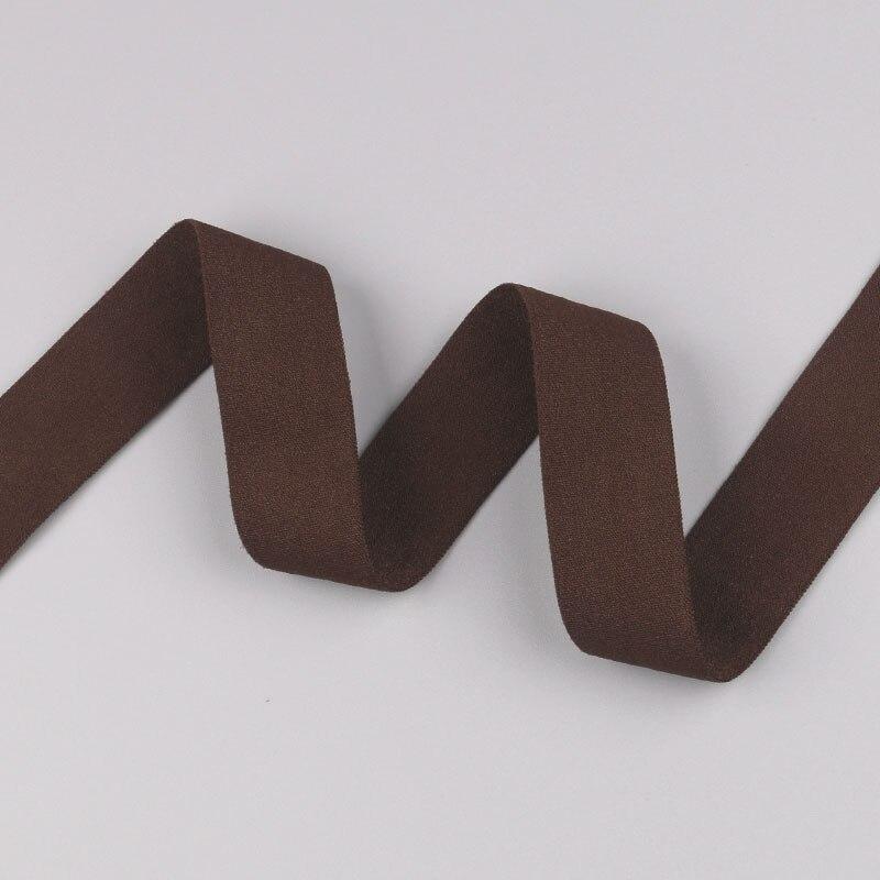 5 ярдов/Лот 20 мм ширина 34 цвета эластичная лента использование для diy аксессуары и одежда галстук лента для волос - Цвет: 18