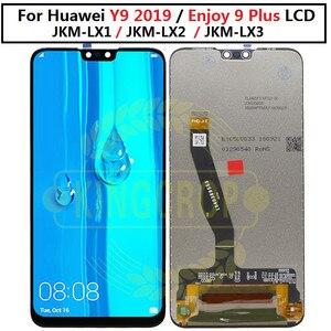 Image 3 - Y92019ディスプレイ + タッチスクリーンデジタイザアセンブリのためのhuawei huaweiためY9 2019フレームとlcd楽しむ9プラスJKM LX1 JKM LX2 JKM LX3