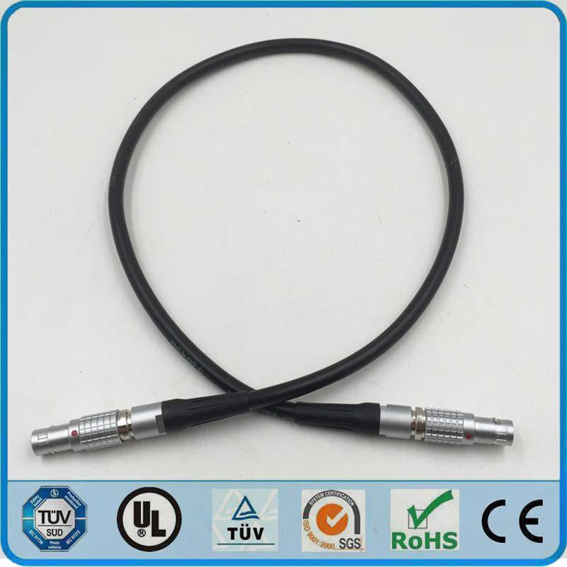 LEMO разъем FGA к FGA штекер 0B 2 3 4 5 6 7 9 Pin два Keying 30 градусов Разъем сварочный кабель 1 м RRI мини камера кабель
