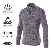 EAGEGOF Для мужчин с длинным рукавом рубашка для гольфа теннис тренировочная спортивная одежда весна-осень keepwarm одежда для гольфа мужской спортивный повседневная одежда