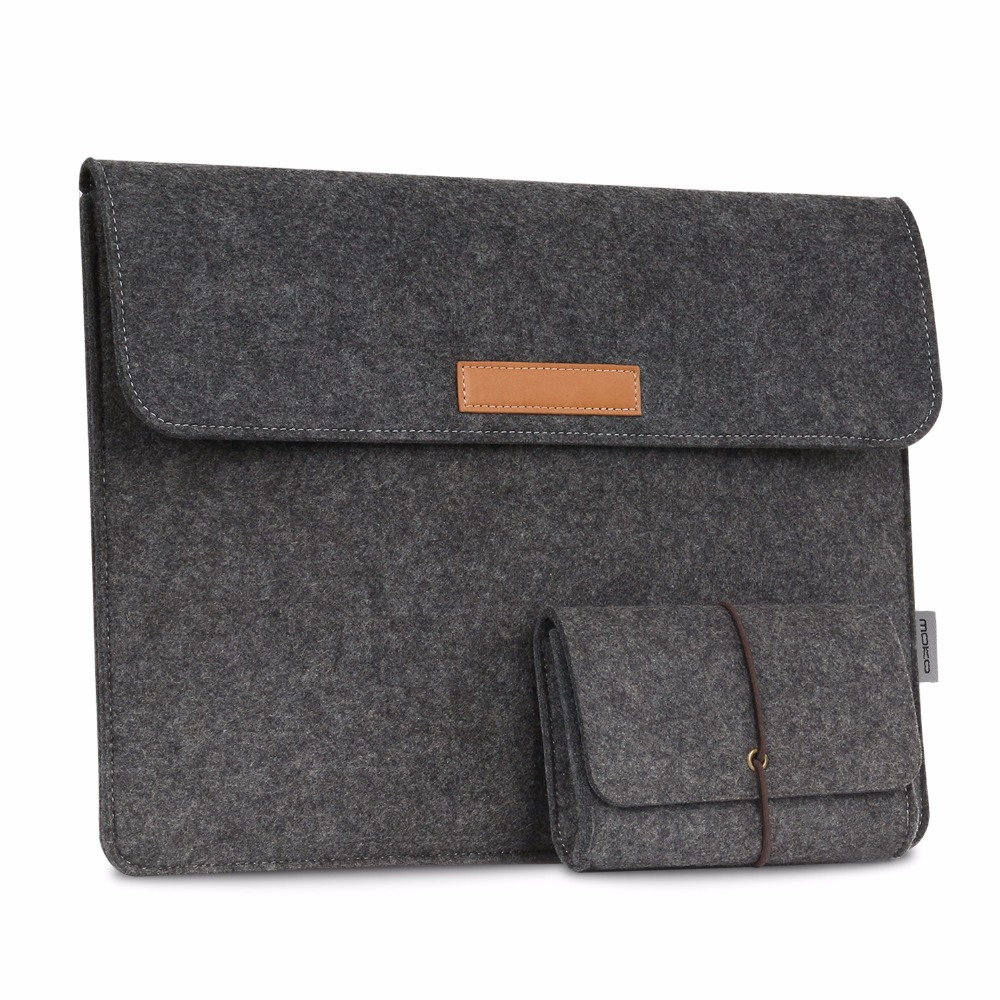 13.5-Inch Sleeve Bag for Surface Book 2 2017 13.5 / Surface Book (2016 & 2015), Felt Protective Ultrabook Carrying Case Cover image