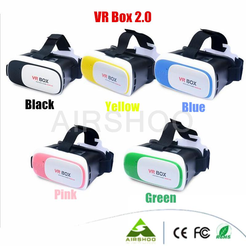 Google Cardboard HeadMount font b VR b font BOX 2 0 Version font b VR b