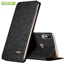 Для Xiaomi Redmi Note 5 Pro Чехол для Redmi Note 5 Pro кремния Роскошные Флип кожаный оригинальный чехол Mofi для Redmi Note 5 Чехол