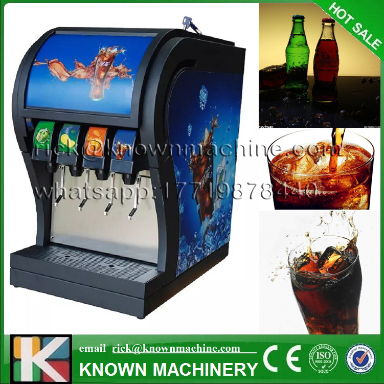 Automatic cola vending machine 4 valves and three different flavors with R22/R404/R410A environment friendly free shipping small condoms vending machine with coins acceptor with 5 choices
