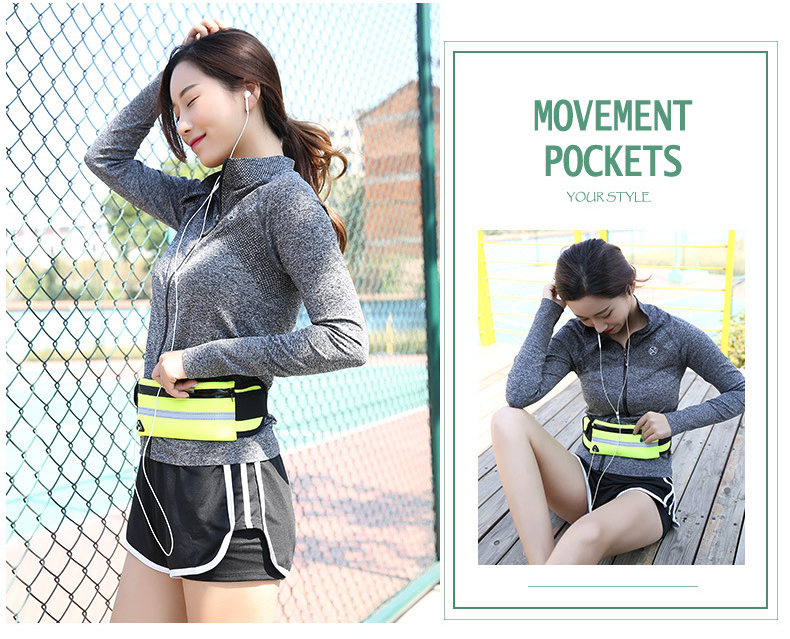 Men Women Running Waist Bag Waterproof Mobile Phone Holder Jogging Sports Running Gym Fitness Bag Lady Sport Accessories 16