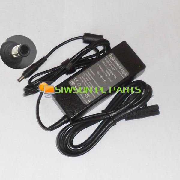 19V 4.74A Laptop Ac Adapter Power SUPPLY + Cord for Samsung RC410 RC420 RC510 RC512 RC518 RC520 RC530 NP R525 RC408 RC508 RC708